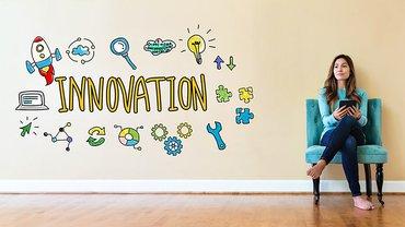 Frau Technik Innovation Digitalisierung