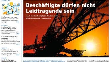 Report Magazin Ver- und Entsorgung, Cover Ausgabe 04/2019