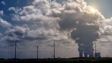 Windrad Kohle Windkraft Kohleausstieg Energiewende