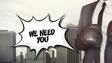 We need you Team gemeinsam stark Tarifverhandlung Mobilisierung