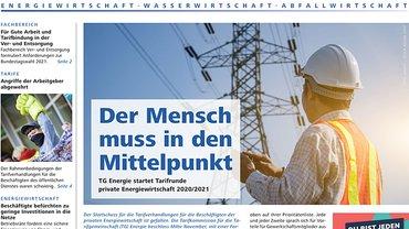 Report Magazin Ver- und Entsorgung, Cover Ausgabe 04/2020